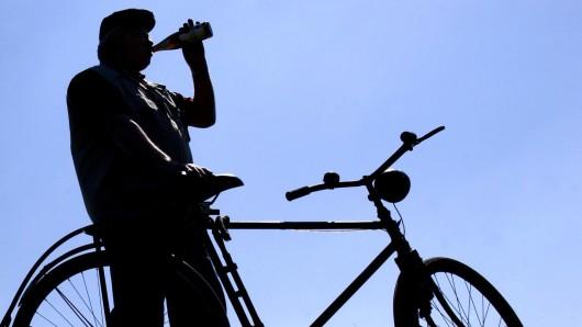 Der Radfahrer hatte mehr als 3 Promille (Symbolbild).
