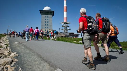 Der Brocken ist mit 1.141 Metern der höchste Gipfel Norddeutschlands (Archivbild).