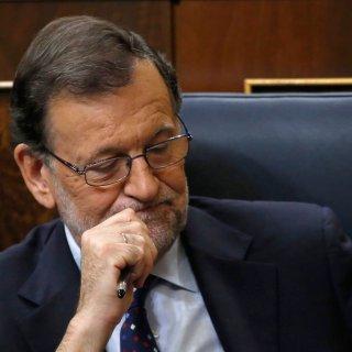 Angeschlagen: der geschäftsführende Ministerpräsident Mariano Rajoy.