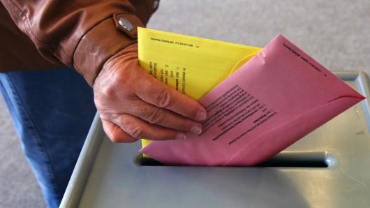 Im Landkreis Peine konnten die Wähler gleich mehrere Stimmzettel abgeben (Symbolbild).