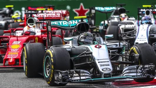 Nico Rosberg siegte in Monza und hat jetzt nur noch zwei Punkte Rückstand auf seinen in der WM-Wertung führenden Teamkollegen Lewis Hamilton.