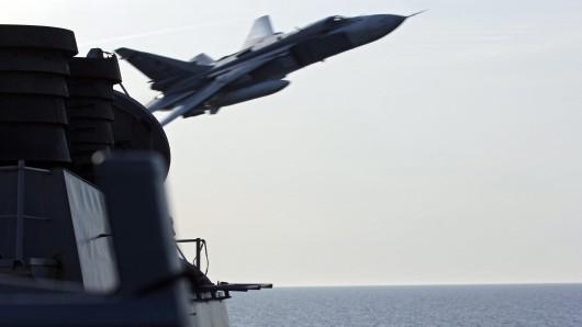 Ein russischer Kampfjet. (Archivbild)