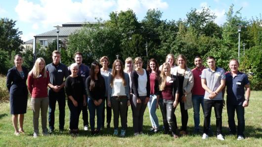16 Schüler haben ihre Ausbildung zur Operationstechnische Assistenten am 1. September beim Helios Klinikum begonnen.