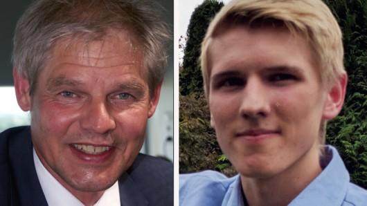 Vater und Sohn in der Stadtpolitik von Salzgitter: OB Frank Klingebiel und Ratsherr Jonas Klingebiel.