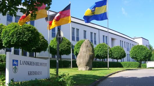 Die Kreisverwaltung in Helmstedt