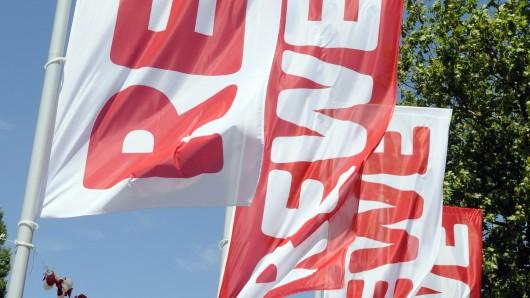 In einem Rewe-Markt in Helmstedt leistete der Mann Widerstand (Symbolbild).