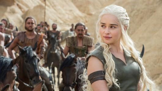 Eine Szene aus der HBO-Serie Game of Thrones. Bei den diesjährigen Emmy-Verleihungen ist die Serie Top-Favorit auf die begehrtesten Preis.