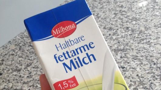 Die Milbona-Milch ist ebenfalls betroffen.