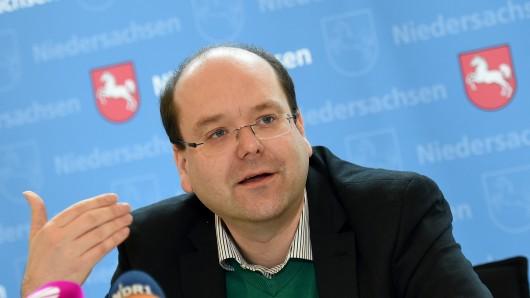Niedersachsens Landwirtschaftsminister Christian Meyer (Bündnis90/Die Grünen)