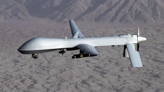 Eine US Drohne