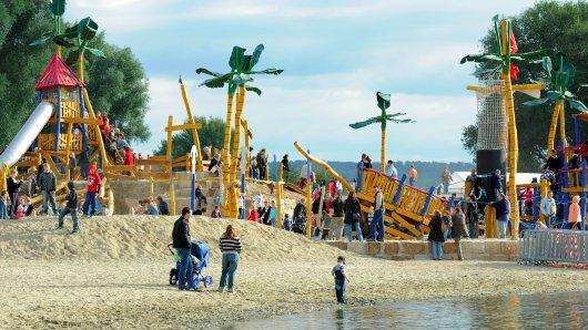 Piratenspielplatz am Salzgitter See
