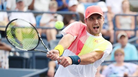 Tennisprofi Mischa Zverev steht im Viertelfinale von den Shanghai-Masters.