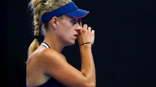 Das war nichts: Angelique Kerber ist im Viertelfinale von Hongkong gescheitert.