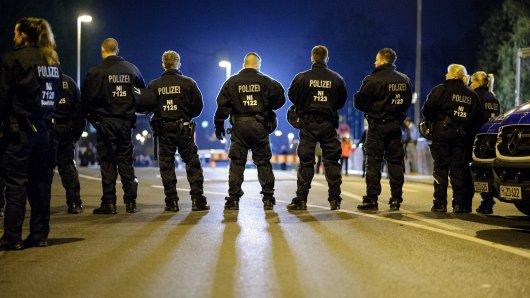 Die Beamten in Münster haben nach dem Spiel einige Anzeigen geschrieben. (Symbolbild)