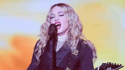US-Sängerin Madonna gibt ein Konzert. (Symbolbild)