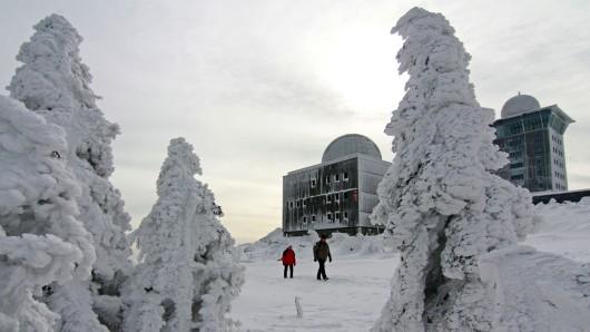 Auf dem Brocken ist schon vor einigen Tagen der Winter eingezogen.