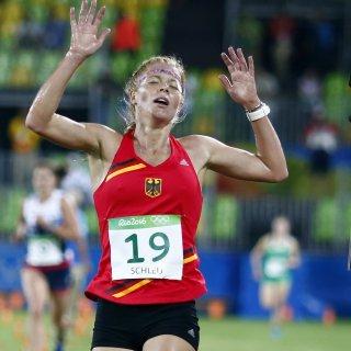Annika Schleu - hier bei den Olympischen Spielen in Rio - hat das Saisonfinale der Fünfkämpferinnen für sich entschieden.
