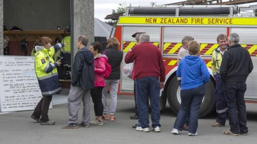 Neuseeland wurde von einem schweren Erdbeben heimgesucht.