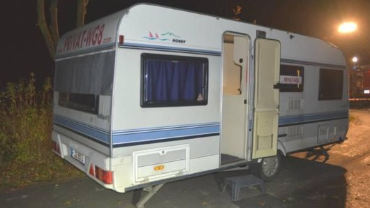 Tatort: Wohnwagen. In diesem Lovemobil wurde die Frau tot aufgefunden.