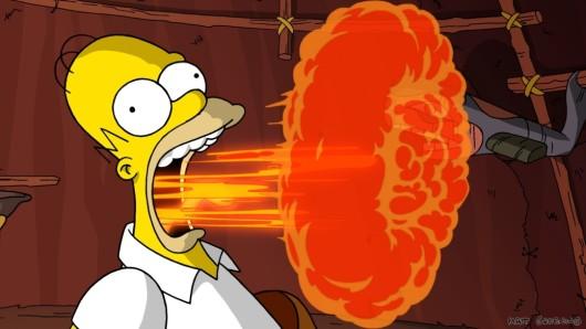 Homer Simpson in der Zeichentrick-Serie (Symbolbild).