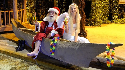 Auch der Weihnachtsmann braucht mal Urlaub (Archivbild).
