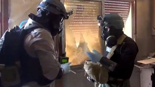 Mehrfach ist im syrischen Bürgerkrieg Giftgas eingesetzt worden (Symbolbild).