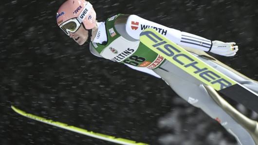 Völlig überraschend holte sich Skispringer Severin Freund das Gelbe Trikot im Weltcup.