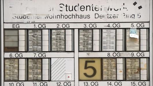Die Studentenwohnheime sind oftmals völlig überfüllt, es herrscht akute Wohnungsnot (Symbolbild).