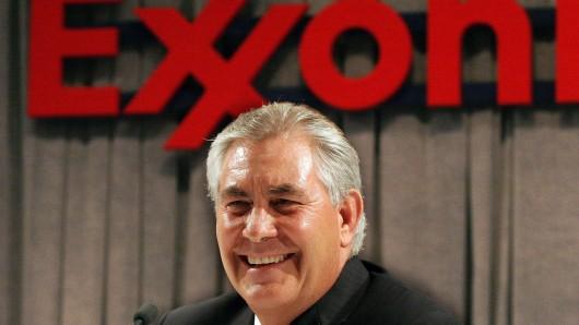 Exxon-Chef Rex Tillerson wird wohl der nächste US-Außenminister.