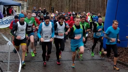 Start für die Läufer auf der Zehn-Kilometer-Distanz.