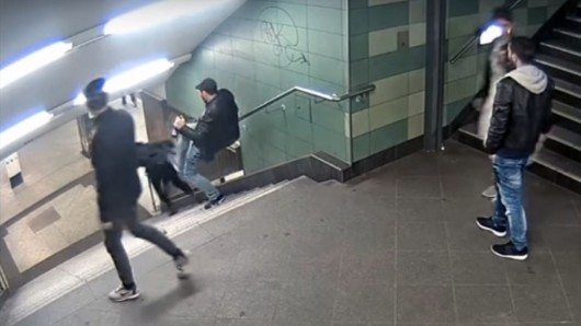 Die Aufzeichnungen aus einer Überwachungskamera haben die Polizei auf die Spur des Hauptverdächtigen geführt.