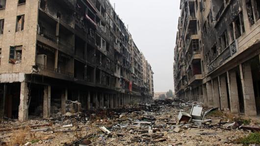 Ost-Aleppo – beziehungsweise das, was davon übrig blieb. (Archivbild)
