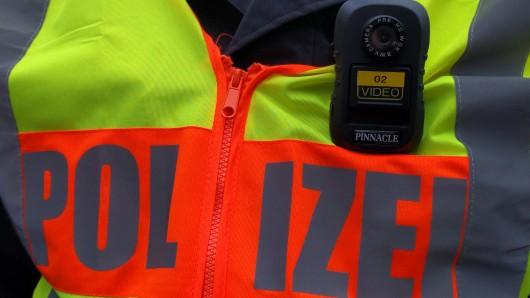 Die Body-Cam der Braunschweiger Polizeiinspektion.