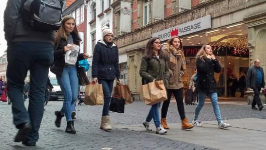 Hutfiltern mit der Burgpassage: Nach dem Willen des Einzelhandelsverbandes Harz-Heide soll die Innenstadt als Gewerbestandort möglichst noch attraktiver werden.