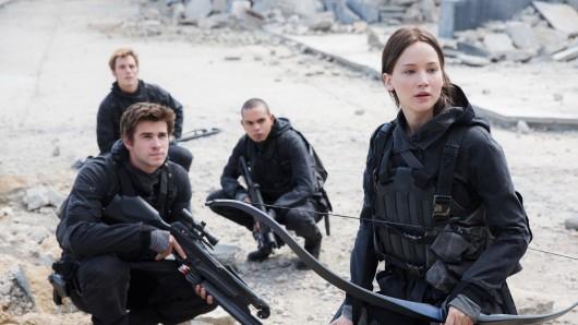 Katniss und Co. flattern bei ProSieben über den Bildschirm.