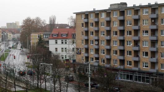 Der Bereich Lange Straße/Celler Straße in Braunschweig: Gerade in den Großstädten dürfte 2017 das Wohnen erneut teurer werden.
