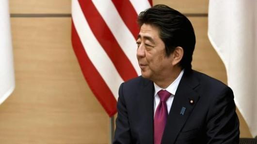 Der japanische PremierministerShinzo Abeist auf Hawaii eingetroffen.