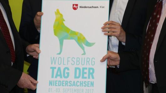Das Logo zum Tag der Niedersachsen 2017 in Wolfsburg.
