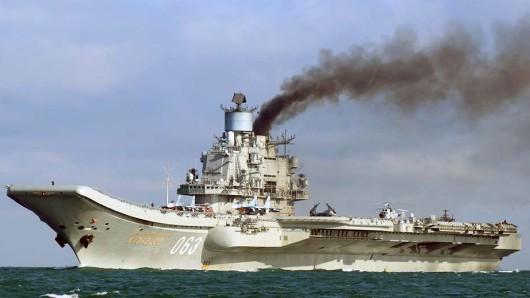 Nach dem Ende der Luftangriffe auf Aleppo verlässt der russische Flugzeugträger Admiral Kusnezow die Gewässer vor Syrien.
