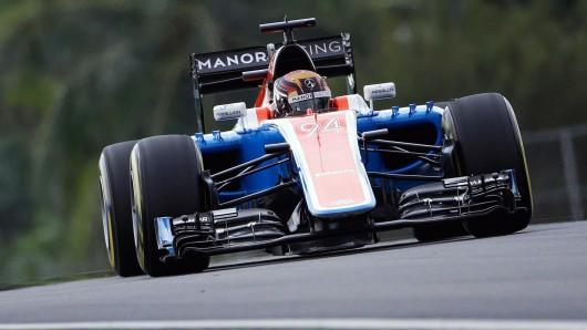 In der vergangenen Saison hat Manor einen einzigen Punkt ergattert - durch den deutschen Piloten Pascal Wehrlein.