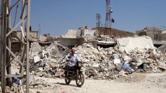 Im nordsyrischen Asas hat es eine verheerende Bombenexplosion gegeben (Archivbild).
