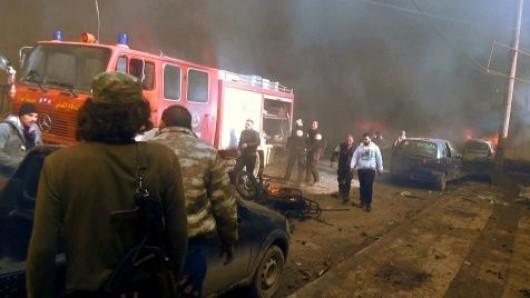 Ein verheerender Terroranschlag hat sich in der nordsyrischen Stadt Asas ereignet.