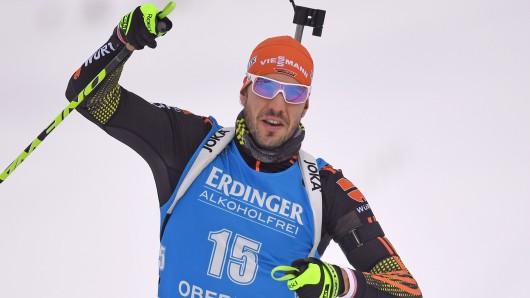 Medaillen-Rang verpasst: Arnd Peiffer verpasste mit seinen Team-Kollegen knapp eine Medaille und liefen auf Platz vier (Symbolbild).