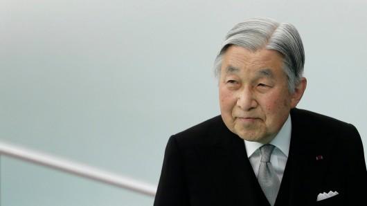 Der Japanische Kaiser Akihito.