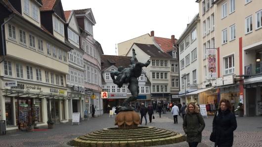 Ringerbrunnen an der Schuhstraße (Archiv)