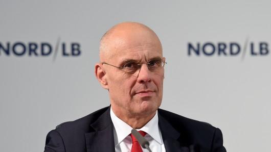 Thomas Bürkle, neuer Vorstandsvorsitzender derNordLB. (Archivbild)