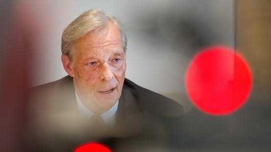 Armin-Paul Hampel (AfD), ehemaliger Vorsitzender des AfD-Landesverbandes in Niedersachsen (Archivbild).