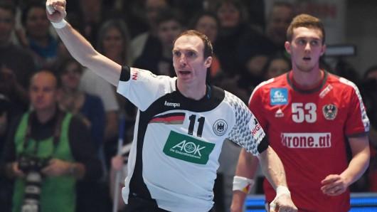 168 Spiele hat Rückraumspieler Holger Glandorf für den DHB schon absolviert