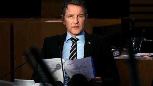 Der Thüringer AfD-Chef und Fraktionsvorsitzende, Björn Höcke (Archivbild).
