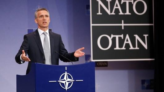 Nato-Generalsekretär Jens Stoltenberg: Den Asylantrag mehrerer türkischer Nato-Offiziere in Deutschland bezeichnet er als nationale Angelegenheit.